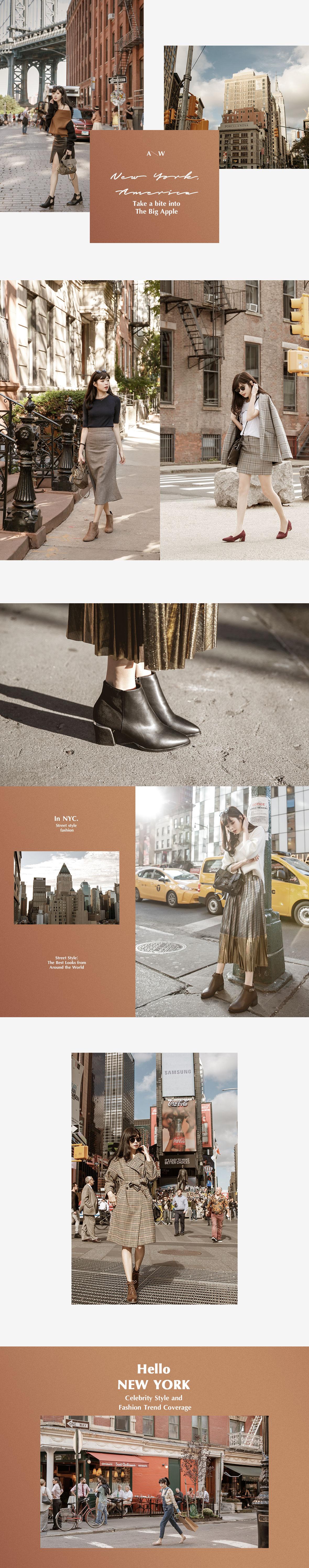 D+AF紐約拍攝秋冬最新靴鞋