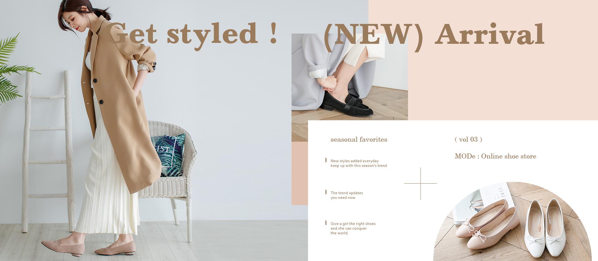 春季女鞋新品上市