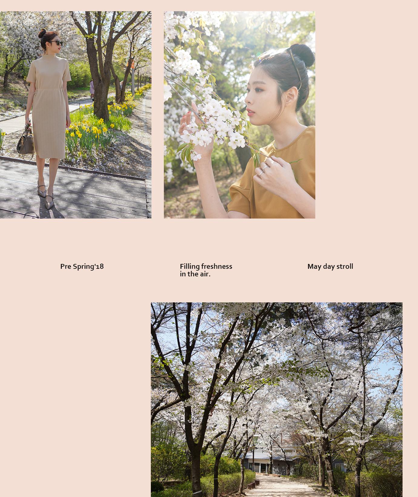 首爾賞櫻特輯II 春季出遊新款女鞋