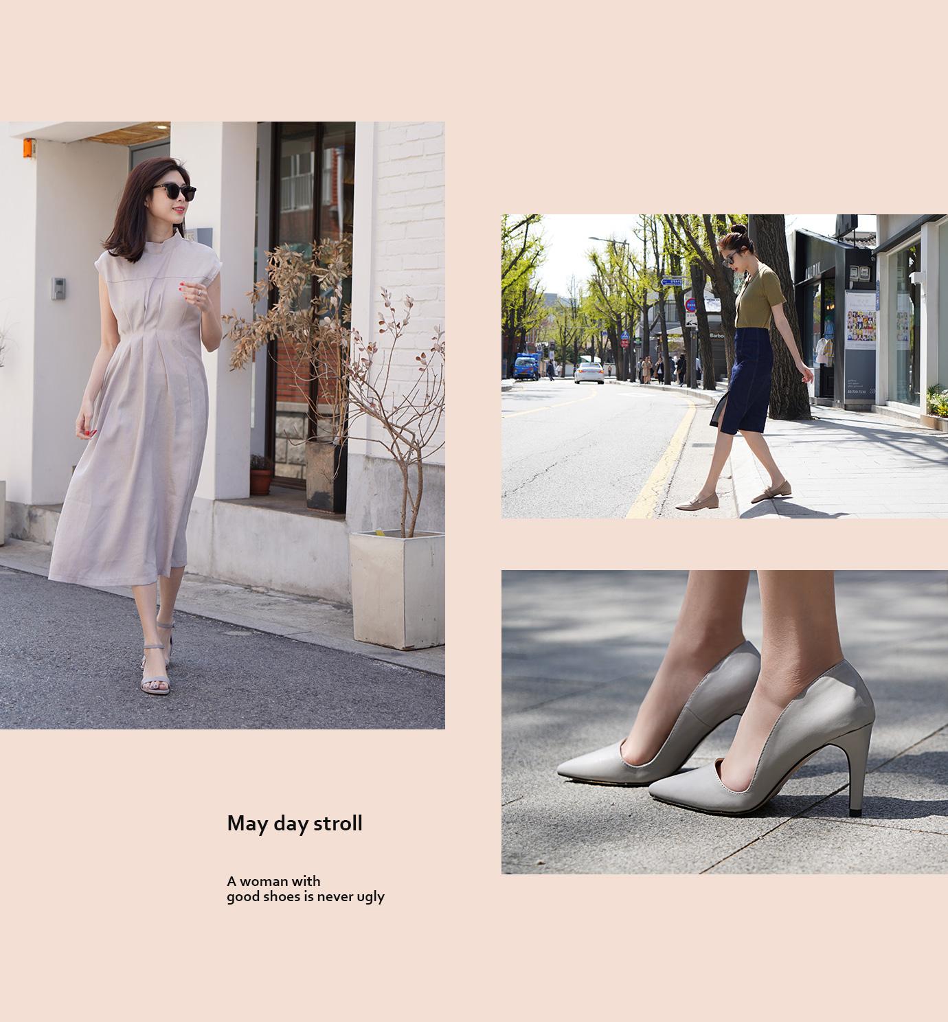 首爾賞櫻特輯II 高跟鞋涼鞋樂福鞋新款女鞋