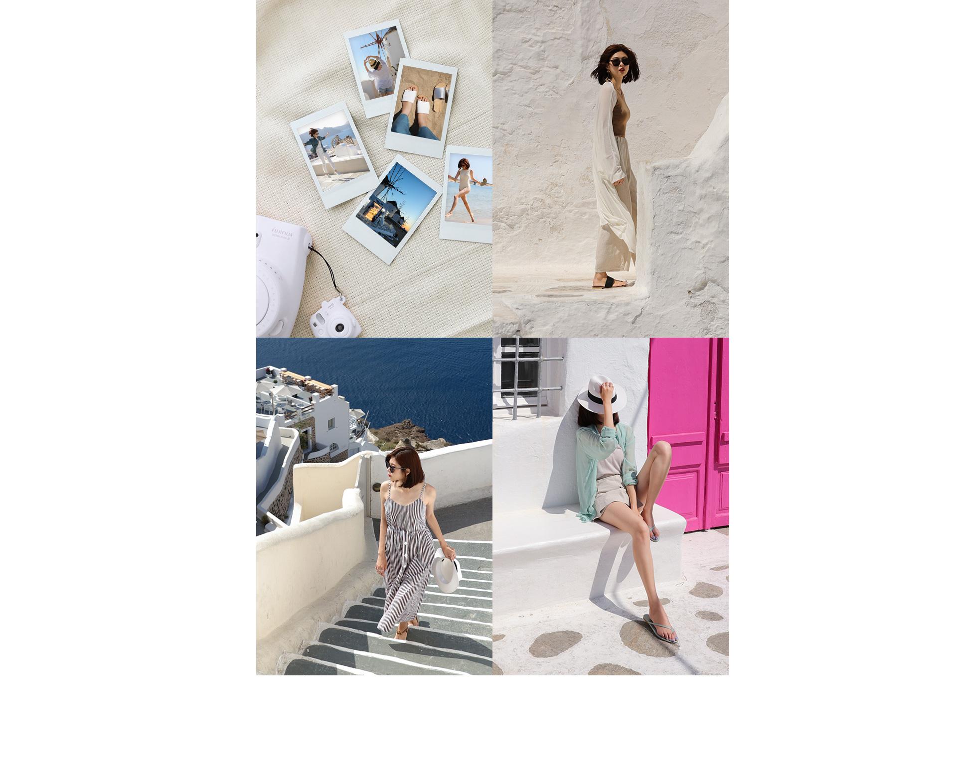 D+AF 2018夏新款女鞋希臘拍攝特輯