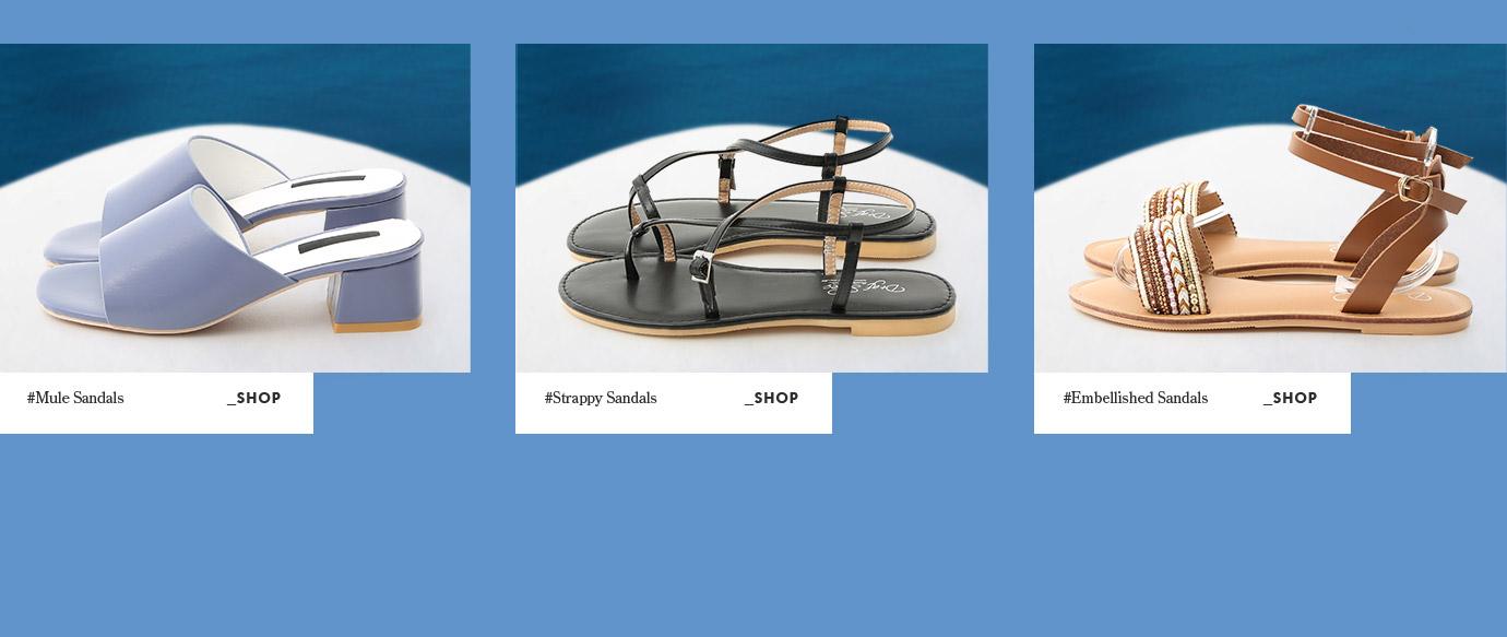 D+AF夏季新款涼鞋女鞋穆勒鞋希臘拍攝特輯