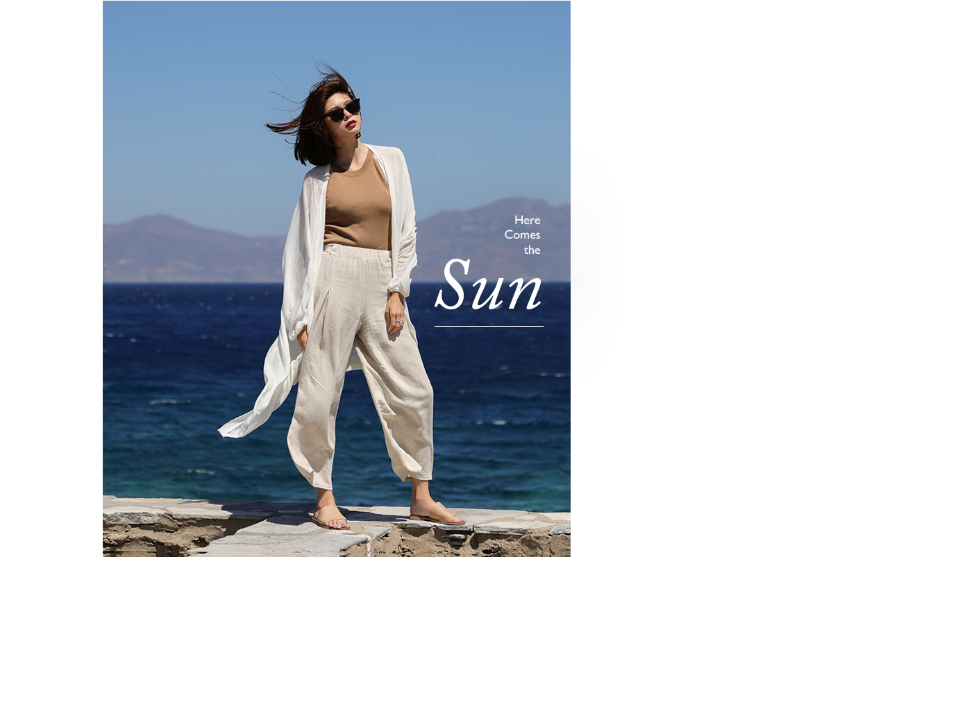 夏季新款涼鞋拖鞋女鞋希臘拍攝特輯