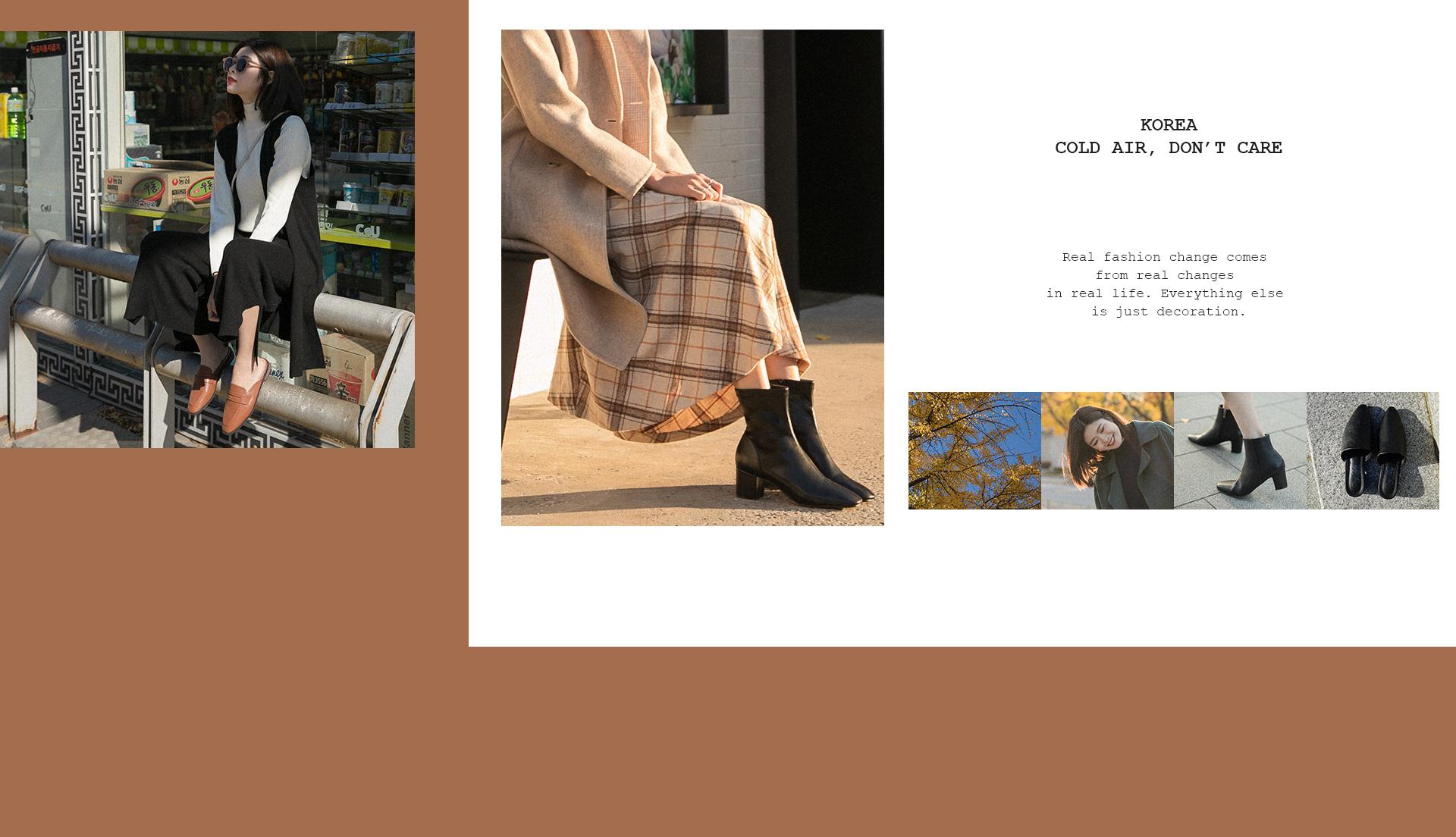 D+AF 韓國拍攝特輯 秋冬鞋款 短靴 穆勒鞋
