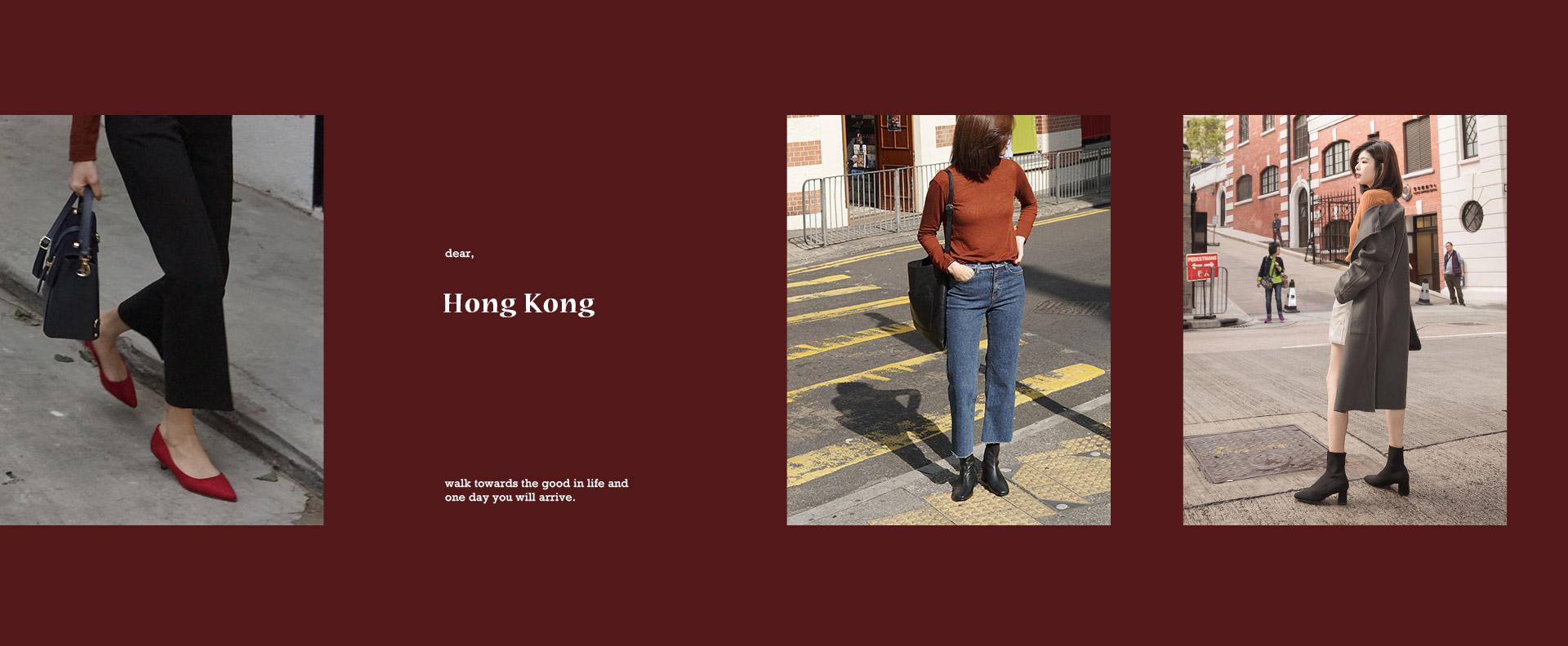 香港拍攝特輯-秋冬流行女鞋女靴
