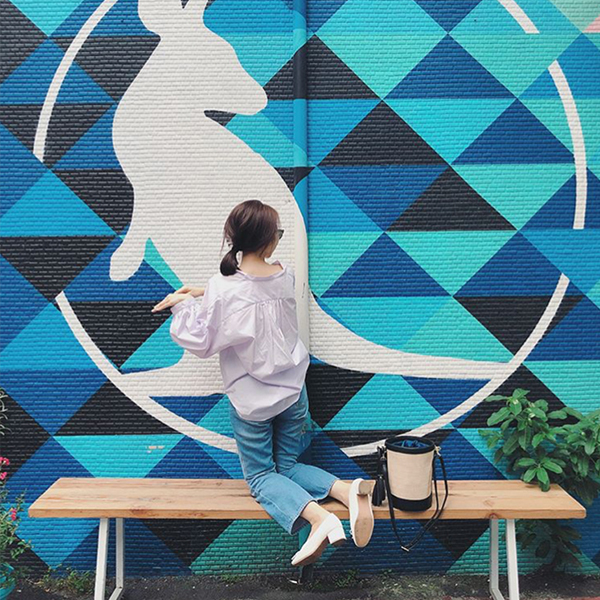 D+AF輕漾甜美.小蝴蝶中跟芭蕾娃娃鞋
