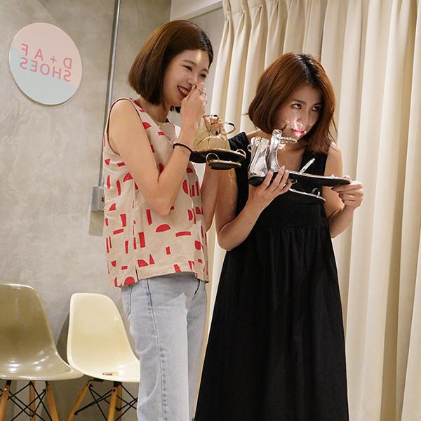 D+af新品美鞋直播花絮3