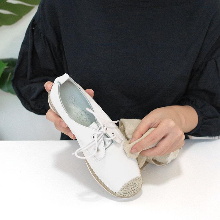 D+AF真皮鞋面清潔教學步驟