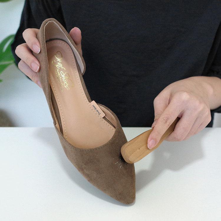 D+AF絨料鞋面清潔教學步驟
