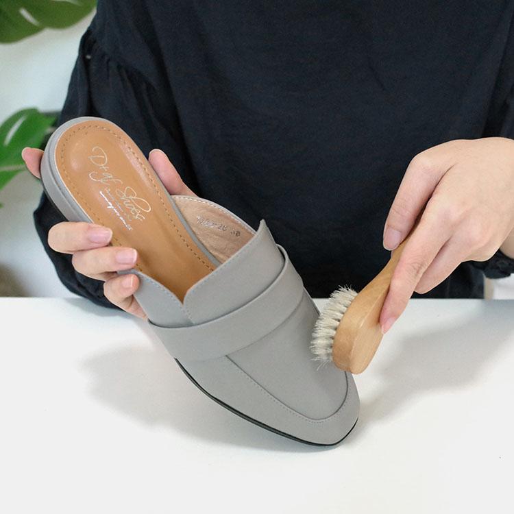 D+AF人造皮鞋面清潔教學步驟