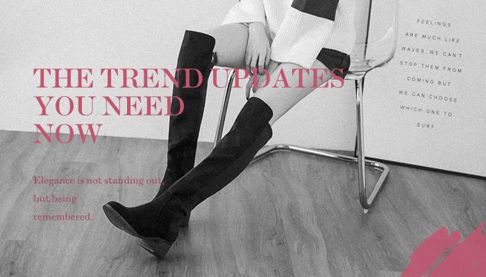 D+AF D+AF官方購物網站 –冬天不穿長靴,不然要穿什!!? 選一雙過膝長靴,立馬變身長腿姐姐!
