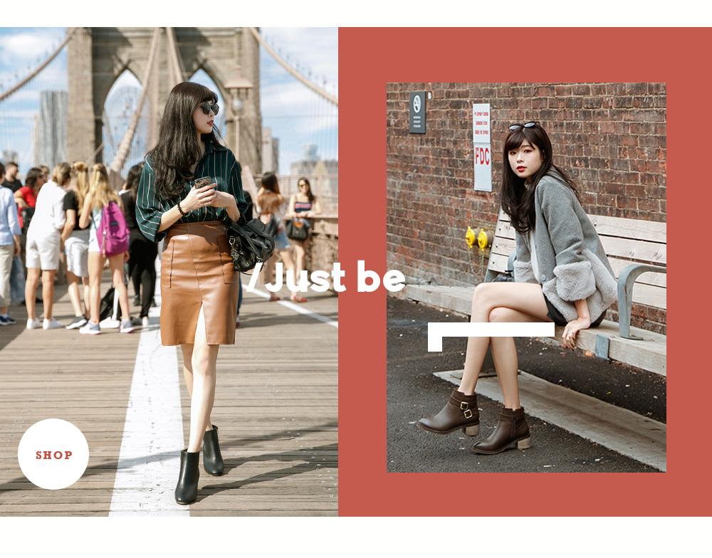 D+AF紐約拍攝特輯秋冬女靴短靴