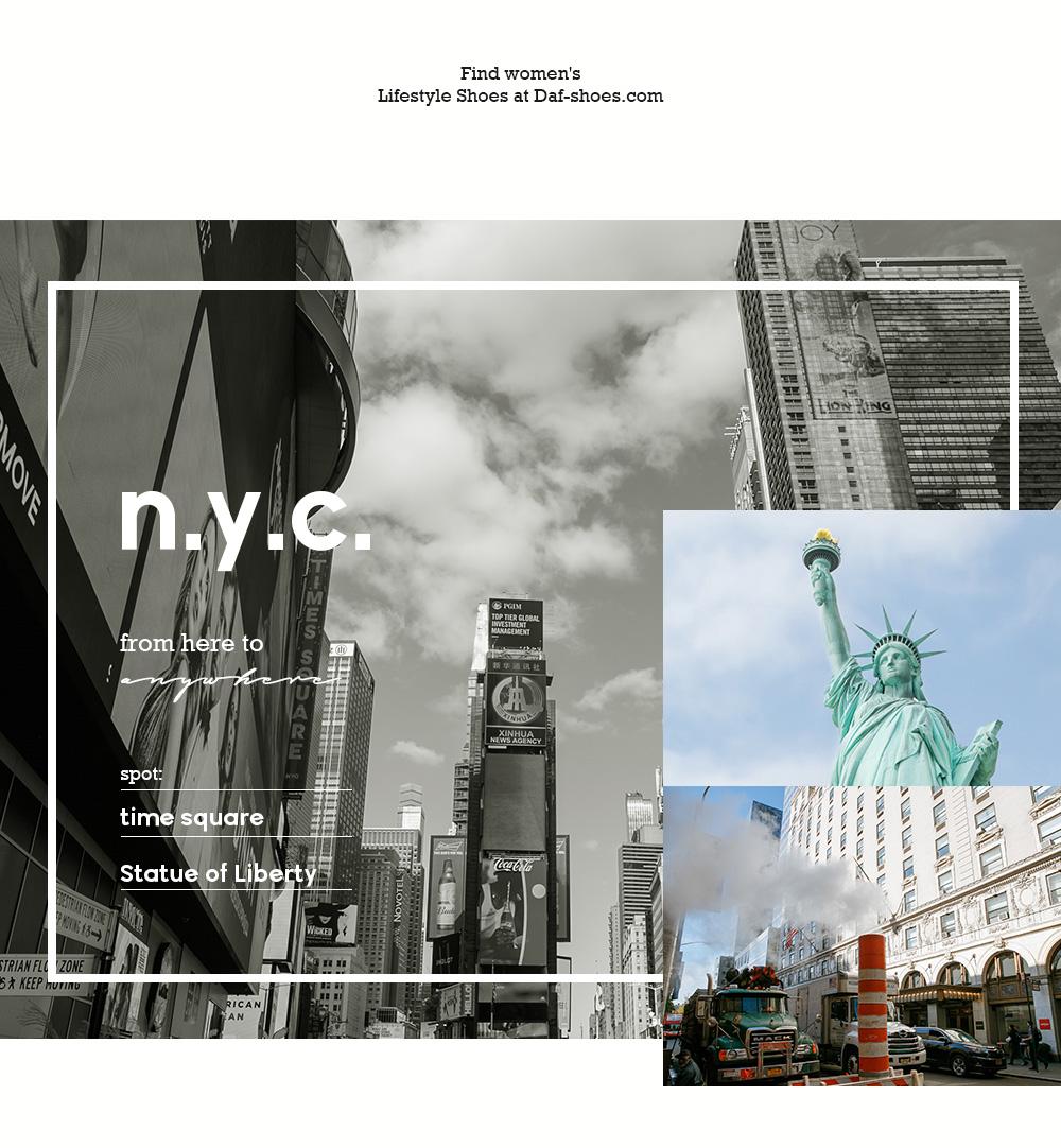D+AF紐約拍攝特輯紐約街景自由女神