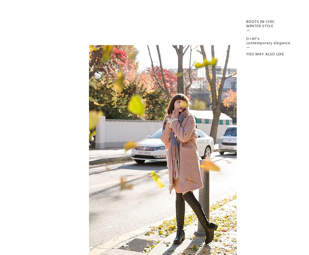 韓國街拍2017秋冬短靴02