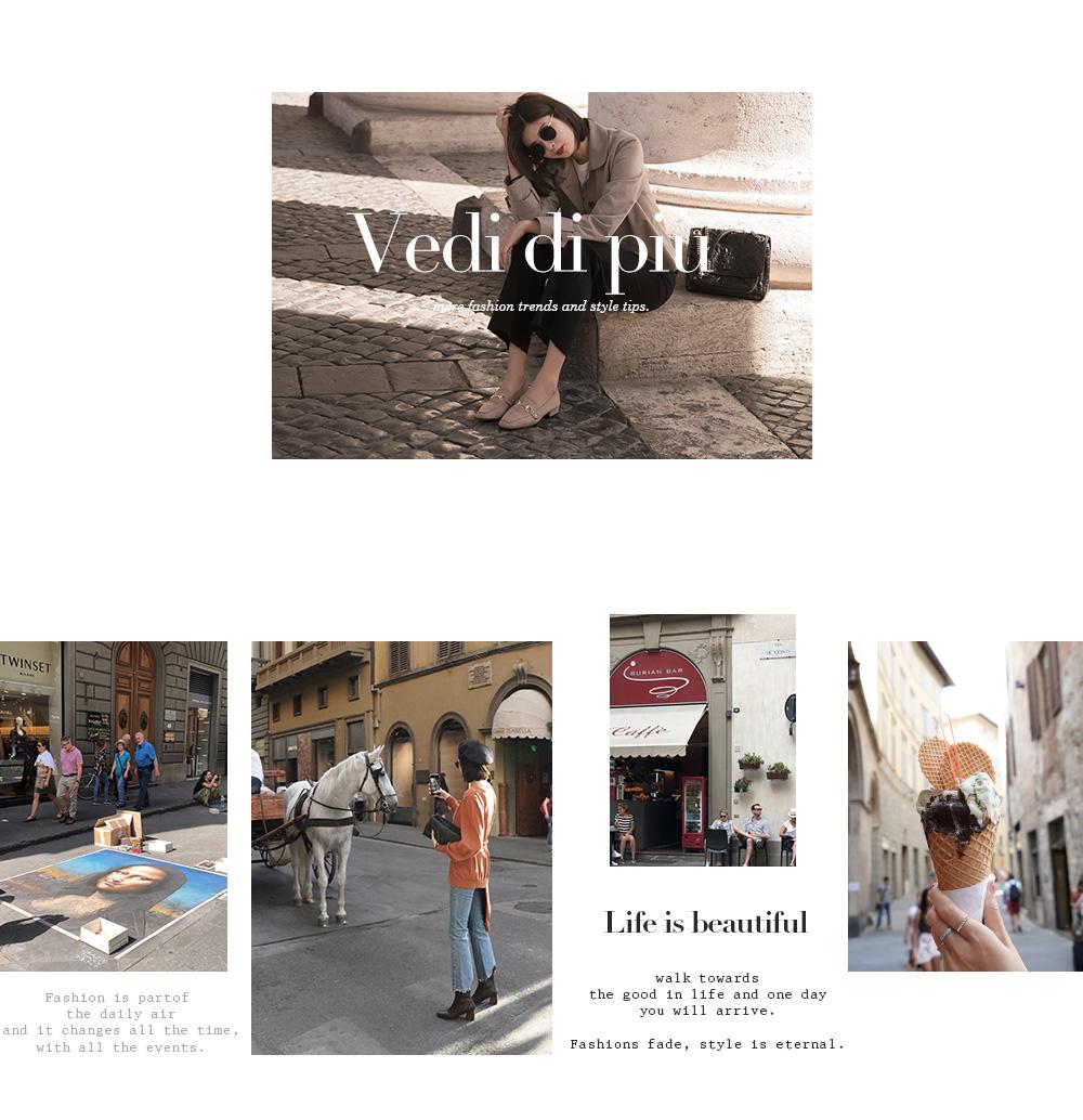 D+AF 秋冬女鞋靴義大利拍攝特輯 尋味義大利!不可錯過的經典旅程