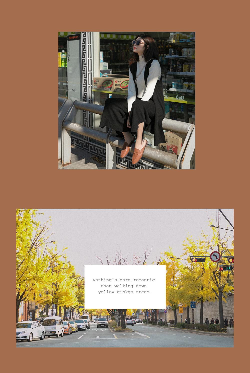 D+AF 韓國拍攝特輯 秋冬鞋款 穆勒鞋